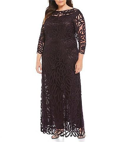 Soulmates Womens Plus Size Dresses Gowns Dillards