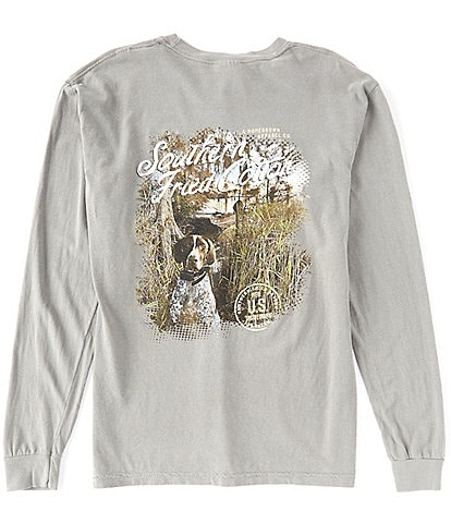 Southern Fried Cotton Hadley Graphic Long-Sleeve Tee
