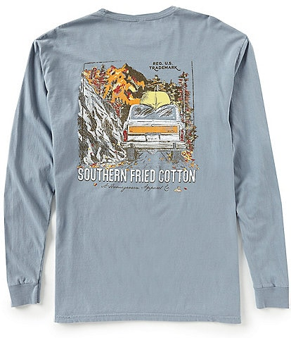 Southern Fried Cotton Headed Up To The Country Long-Sleeve Tee