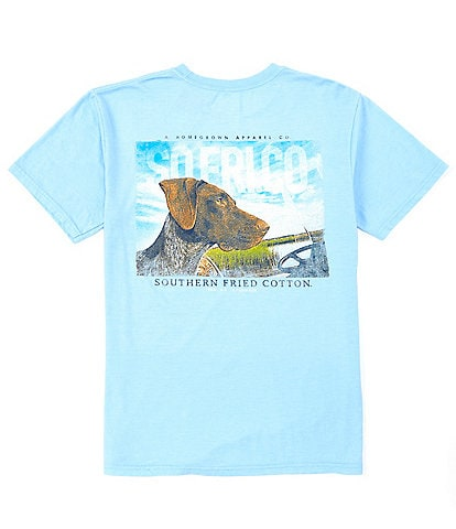 Southern Fried Cotton Men's Heidi Short-Sleeve Pocket Graphic Tee