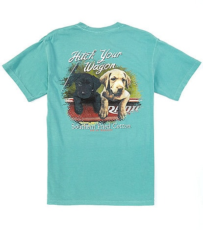 Southern Fried Cotton Men's Mazie Short-Sleeve Pocket Graphic Tee
