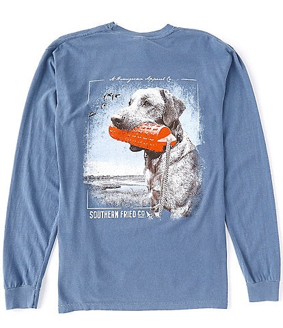 Southern Fried Cotton Our Boy Buck Graphic Long-Sleeve Tee
