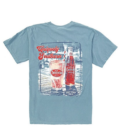 Southern Fried Cotton Men's Uniquely Southern Short-Sleeve Pocket Graphic Tee