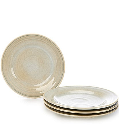 Southern Living Piper Collection Glazed Dinner Plates, Set of 4