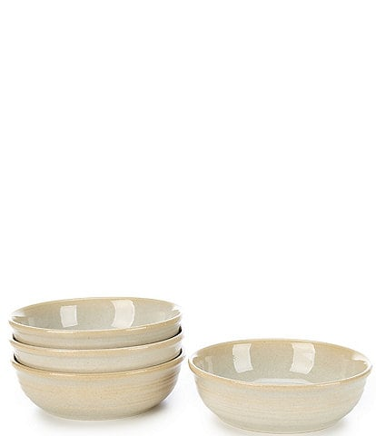 Southern Living Piper Collection Glazed Pasta Bowls, Set of 4
