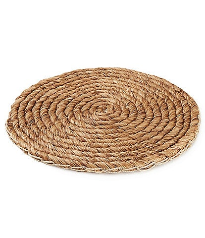 Southern Living 15#double; Abaca Seagrass Charger