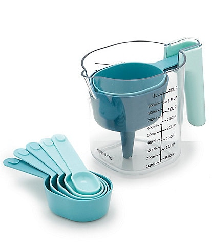 Southern Living 9-Piece Measuring Set with Funnel