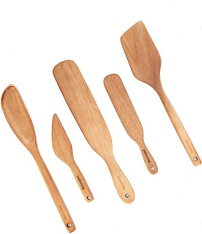 Southern Living Acacia Wood Kitchen Utensils, Set of 5