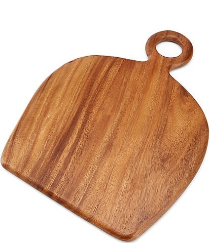 Southern Living Acacia Wood Tapered Small Cheese Board