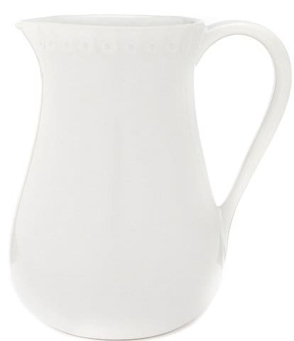 Southern Living Alexa Collection Embossed Stoneware Pitcher