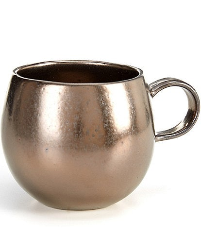 Southern Living Astra Collection Glazed Metallic Belly Mug