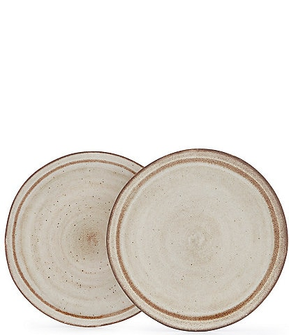 Southern Living Astra Collection Glazed Dinner Plates, Set of 2