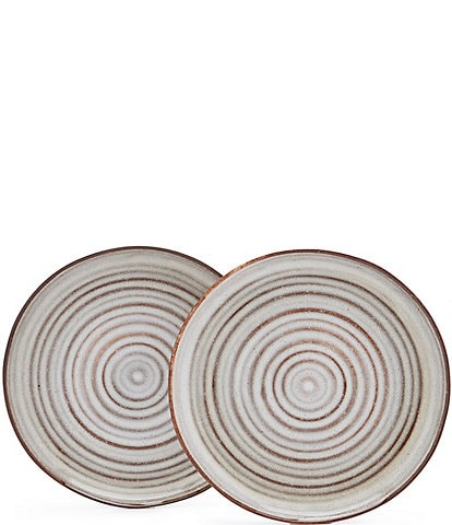 Southern Living Astra Collection Glazed Salad Plate, Set of 2