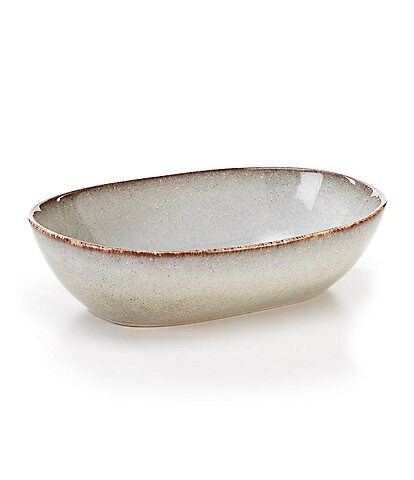 Southern Living Astra Collection Glazed Small Oval Baker