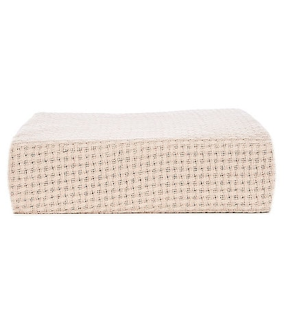 Southern Living Basketweave MicroCotton Bed Blanket