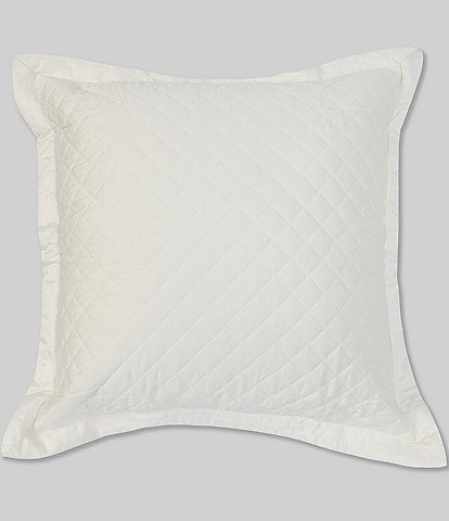 Southern Living Belmont Diamond Patterned Quilted Euro Sham