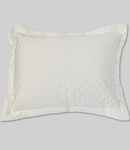 Southern Living Belmont Diamond Patterned Quilted Sham