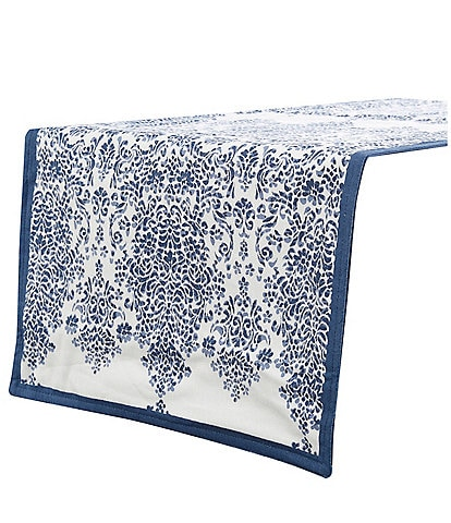 Southern Living Blue Lace Block 72#double; Runner