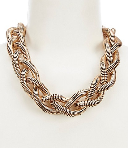 Southern Living Braided Collar Necklace