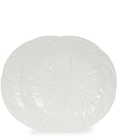 Southern Living Cabbage Dinner Plates, Set of 2