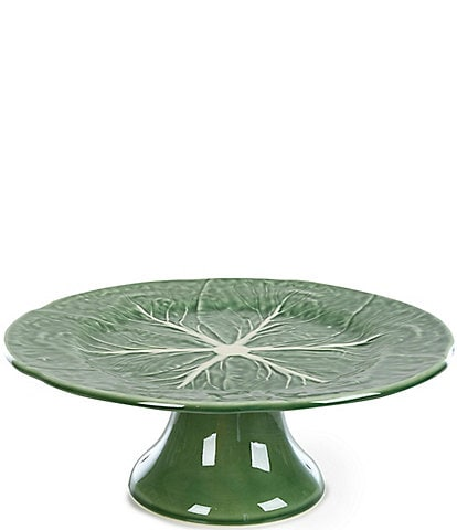 Southern Living Cabbage Footed Cake Plate