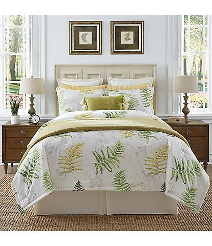 Southern Living Courtland Cotton & Linen Comforter Mini Set