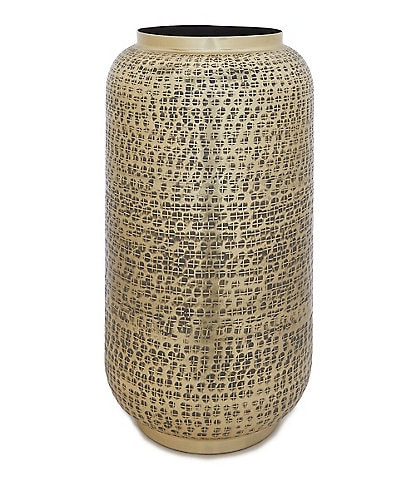 Southern Living Cozy Winter Collection Hammered Vase