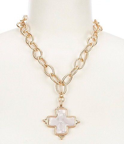Southern Living Cross Pendant Necklace