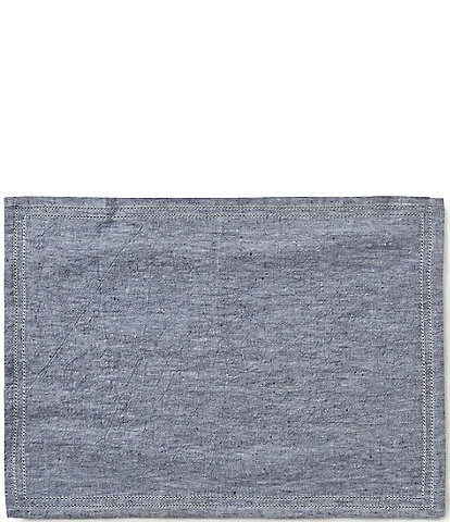 Southern Living Double-Hem-Stitched Linen Placemat