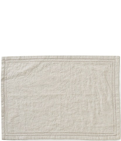 Southern Living Double-Hem-Stitched Linen Table Linens