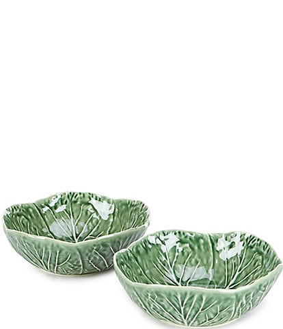 Southern Living Easter Collection Cabbage Cereal Bowls, Set of 2