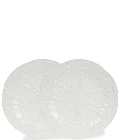 Southern Living Cabbage Salad Plates, Set of 2