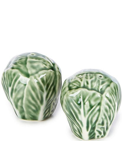 Southern Living Collection Cabbage Salt & Pepper Set