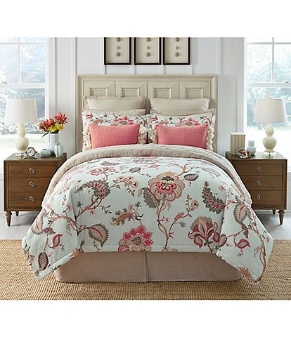 Southern Living Ellington Floral Comforter Mini Set