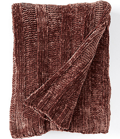 Southern Living Festive Fall Collection Gemma Chenille Throw