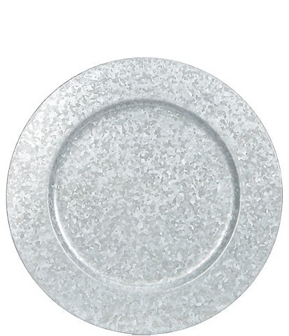 Southern Living Galvanized Charger Plate