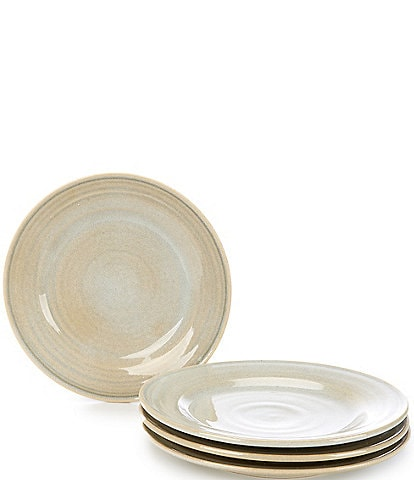 Southern Living Piper Collection Glazed Salad Plates, Set of 4