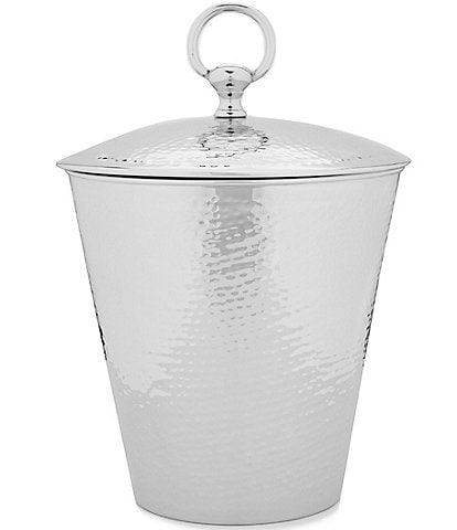 Southern Living Hammered Ice Bucket with Lid