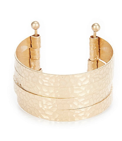 Southern Living Hammered Cuff Bracelet