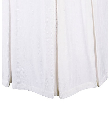Southern Living Heirloom Cotton Pique Bed Skirt