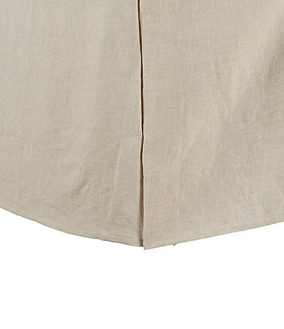 Southern Living Heirloom Distressed Linen Bedskirt