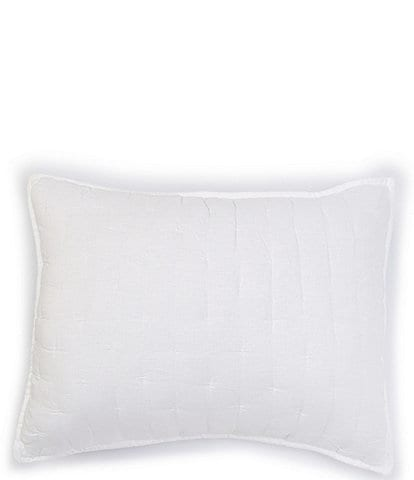 Southern Living Heirloom Quilted Linen Sham