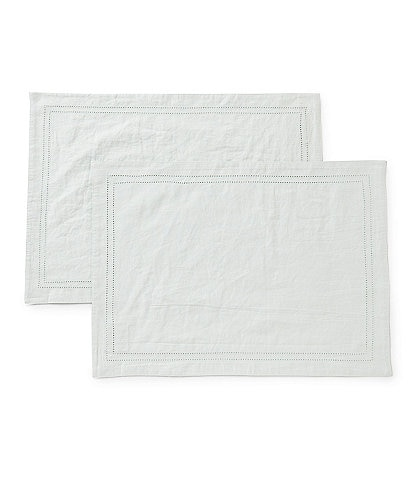 Southern Living Hemstitch Placemat, Set of 2