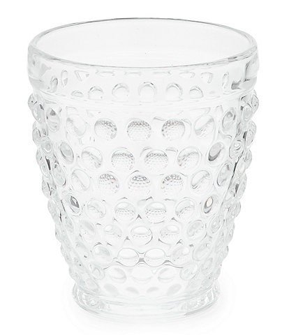 Southern Living Hobnail Double Old-Fashion Glass