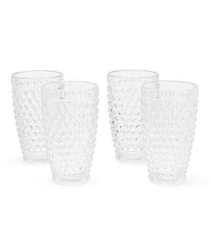 Southern Living Hobnail Tumbler, Set of 4