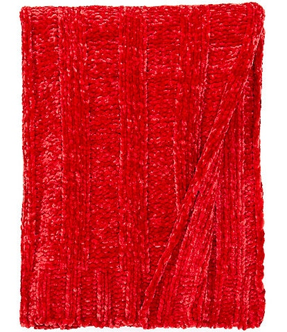 Southern Living Holiday Collection Gemma Chenille Throw