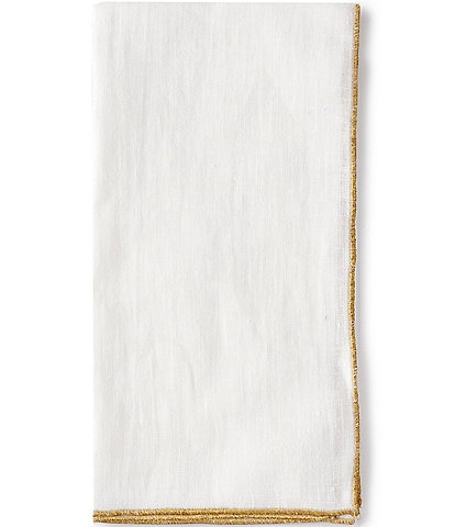 Southern Living Holiday Gold Trim Napkin