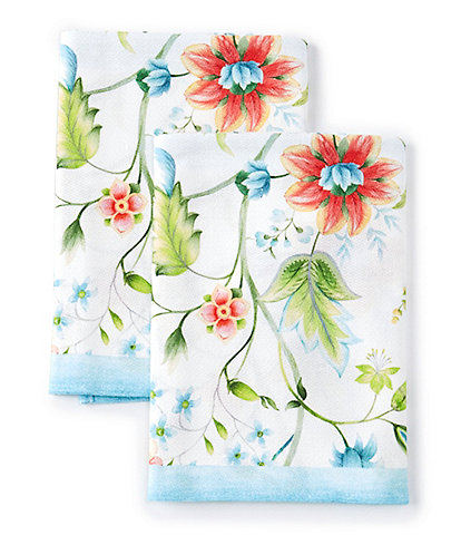 Southern Living Jaco Floral Dish Towels, Set of 2