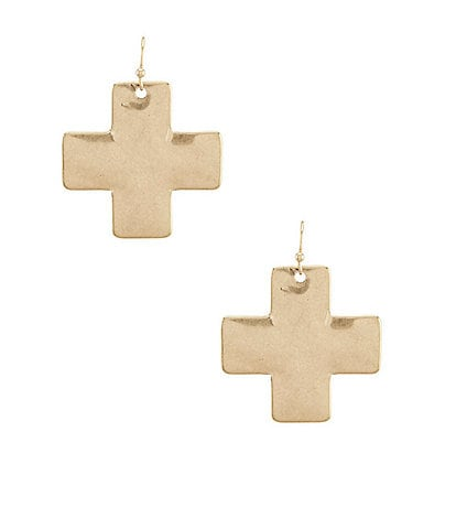 Southern Living Karen Cross Earrings