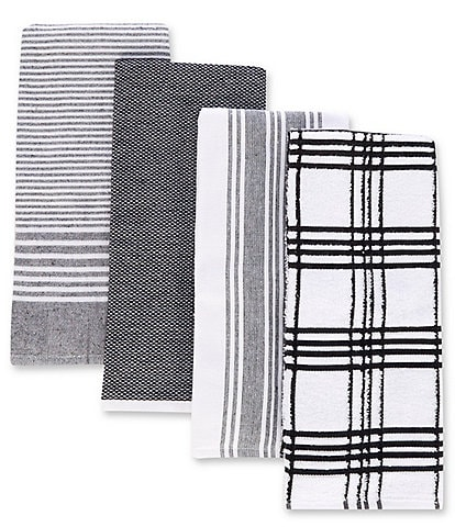 Southern Living Kitchen Solution Collection, Set of 4 Kitchen Towels